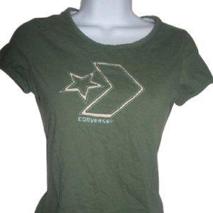 Converse Green T-shirt Small